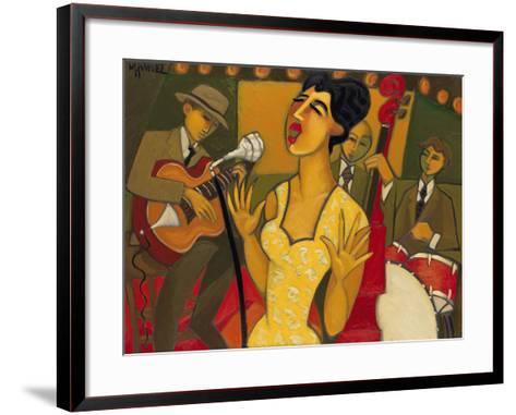 The Recording Session-Marsha Hammel-Framed Art Print
