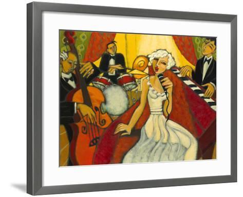Jazz Diva Blanche-Marsha Hammel-Framed Art Print