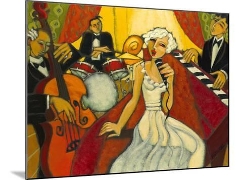 Jazz Diva Blanche-Marsha Hammel-Mounted Giclee Print