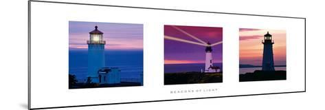 Beacons Of Light--Mounted Giclee Print
