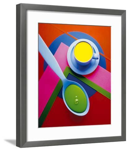Cup and Saucer-Frank Farrelly-Framed Art Print