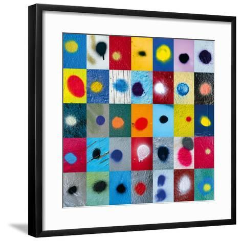 Spot the Difference-Sharon Elphick-Framed Art Print