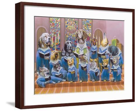 Harmony-Bryan Moon-Framed Art Print