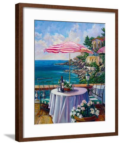 Dejeuner Sur La Cote D'azur II-Ginger Cook-Framed Art Print