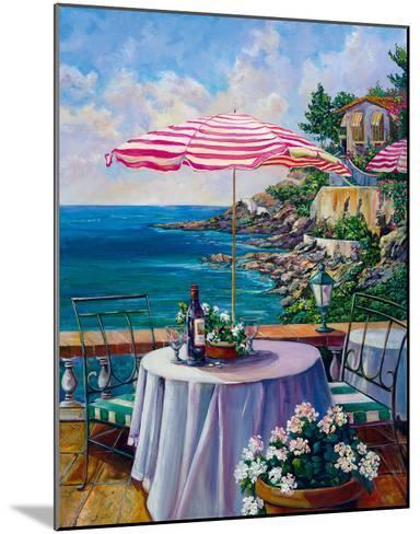 Dejeuner Sur La Cote D'azur II-Ginger Cook-Mounted Giclee Print