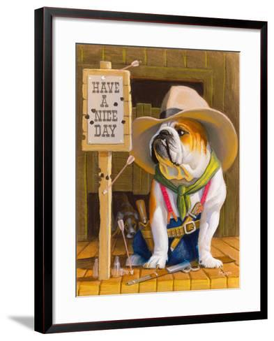 Have A Nice Day-Bryan Moon-Framed Art Print