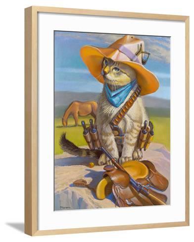Billy The Kid-Bryan Moon-Framed Art Print
