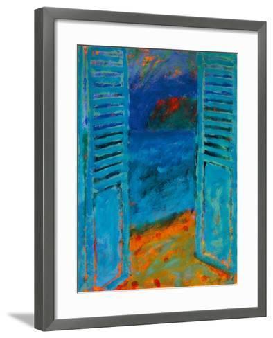 Across The Bay II-Sara Hayward-Framed Art Print