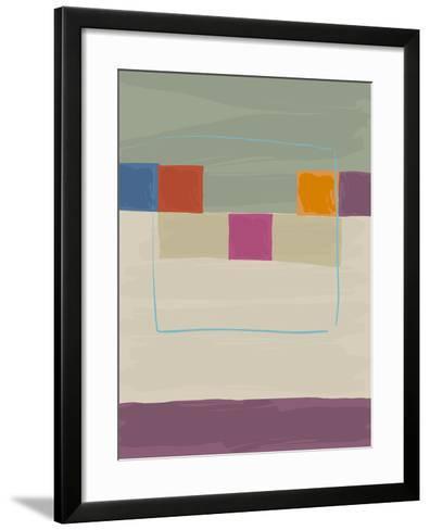 Square Path I-Gerry Baptist-Framed Art Print