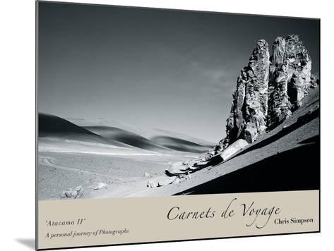 Atacama II-Chris Simpson-Mounted Giclee Print