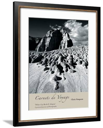 White City Rocks II, Abiquiu-Chris Simpson-Framed Art Print