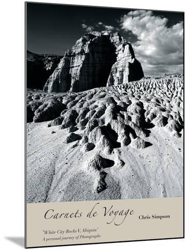 White City Rocks II, Abiquiu-Chris Simpson-Mounted Giclee Print