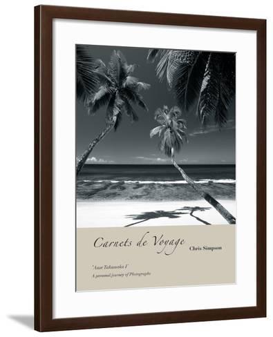 Anse Takamaka I-Chris Simpson-Framed Art Print