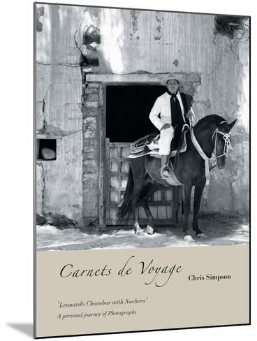 San Antonio de Areco II-Chris Simpson-Mounted Giclee Print