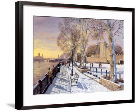 Tower of London-Clive Madgwick-Framed Art Print