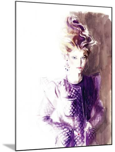 Kenny-Sharon Pinsker-Mounted Giclee Print