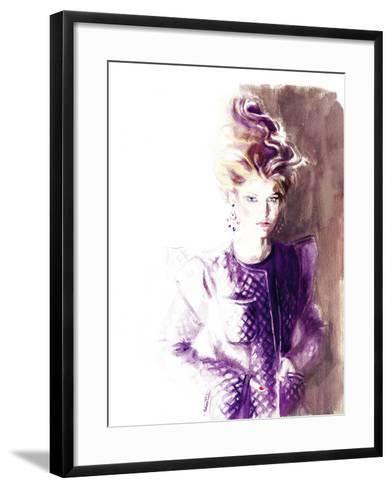 Kenny-Sharon Pinsker-Framed Art Print