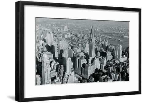 New York City In Winter III-British Pathe-Framed Art Print