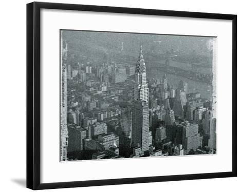 New York City In Winter IV-British Pathe-Framed Art Print