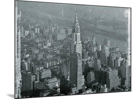 New York City In Winter IV-British Pathe-Mounted Giclee Print