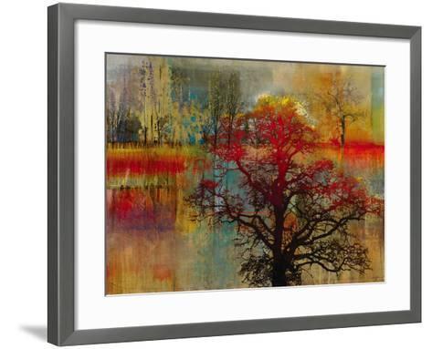 Sunset Pasture-Douglas-Framed Art Print