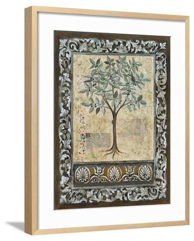 Fresco Botanica I-Jen Kirstein-Framed Art Print