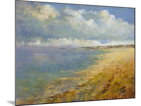 Coastal Wave- Deckard-Mounted Giclee Print