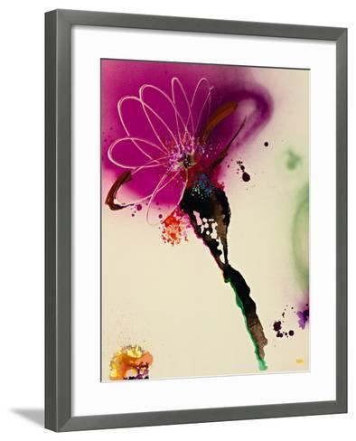 Floral Mist I-Leila-Framed Art Print