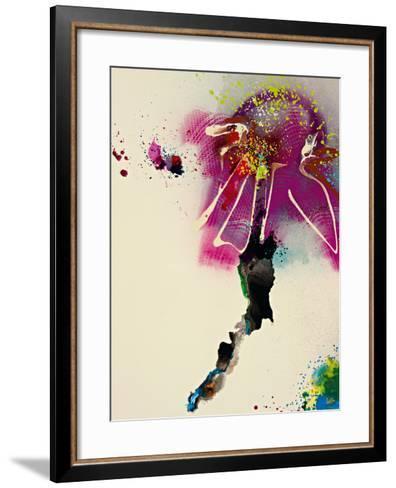 Floral Mist IV-Leila-Framed Art Print
