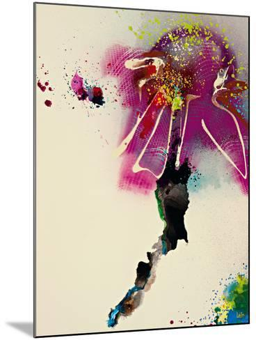 Floral Mist IV-Leila-Mounted Giclee Print