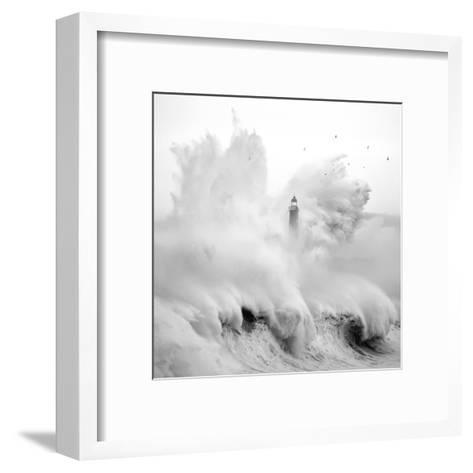 Birds in the Storm-Marina Cano-Framed Art Print