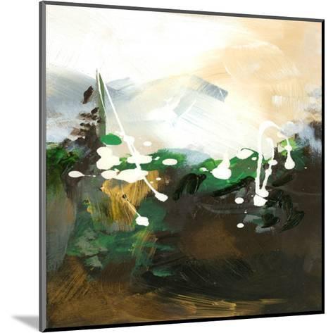 Green Abstract-Meejlau-Mounted Art Print