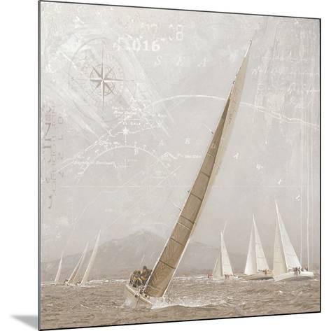 Yachting I-Enrico Sestillo-Mounted Art Print