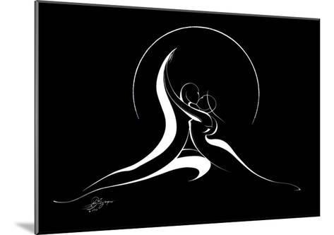 Couple Harmony II-Alijan Alijanpour-Mounted Art Print