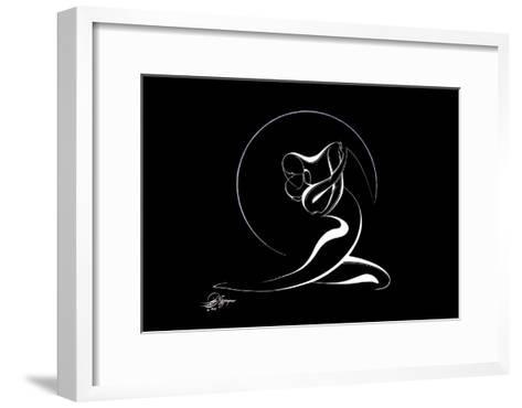 Couple Harmony IV-Alijan Alijanpour-Framed Art Print