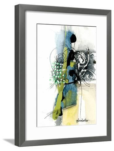 Zone Bleue-Sylvie Cloutier-Framed Art Print
