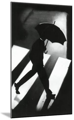 Zebra Crossing-David Cowden-Mounted Art Print