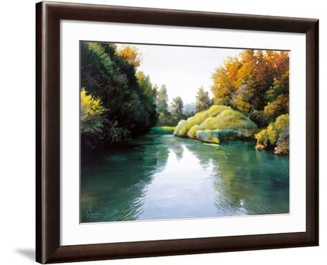 Silver Waters-Adriano Galasso-Framed Art Print