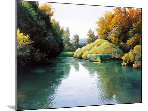 Silver Waters-Adriano Galasso-Mounted Art Print