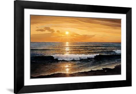 Rolling Surf-W^ Galland-Framed Art Print
