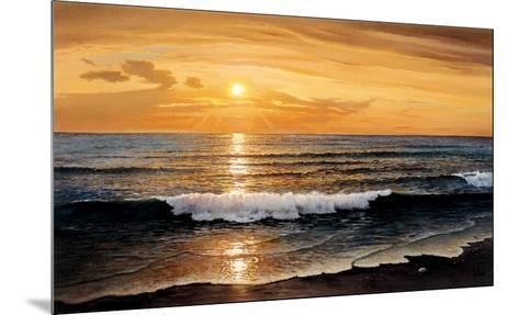 Rolling Surf-W^ Galland-Mounted Art Print