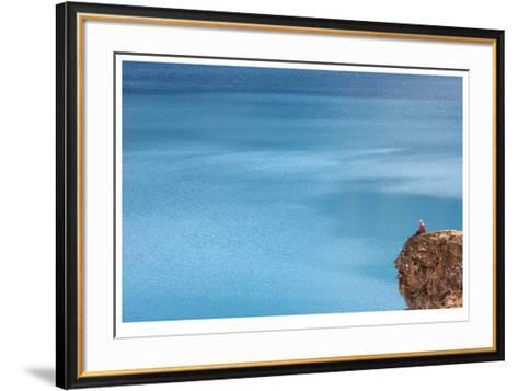 Contemplating Water-Donald Paulson-Framed Art Print