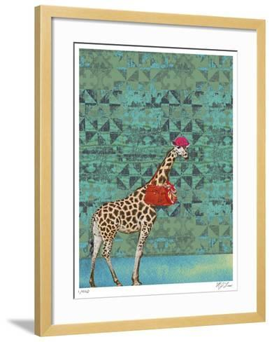 Ginger-Mj Lew-Framed Art Print