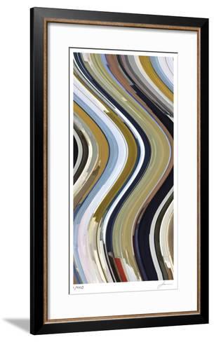 Wave Form 3-James Burghardt-Framed Art Print