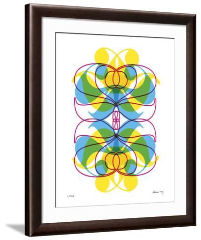 Two Pattern-Adrienne Wong-Framed Art Print