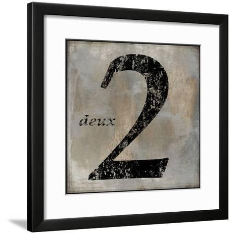 Deux-Oliver Jeffries-Framed Art Print