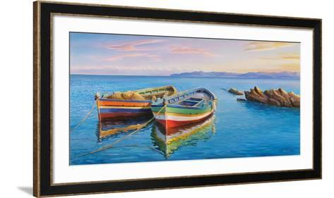 Sottovento-Adriano Galasso-Framed Art Print