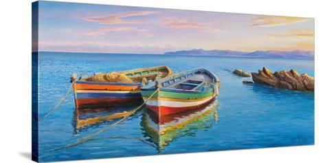 Sottovento-Adriano Galasso-Stretched Canvas Print