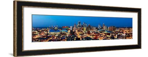 Kansas City, Missouri-James Simmons-Framed Art Print