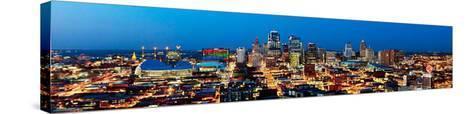 Kansas City, Missouri-James Simmons-Stretched Canvas Print
